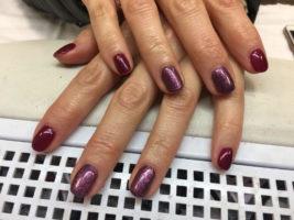 Copertura in gel delle unghie naturali