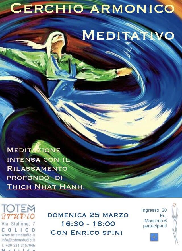 Cherchio armonico mediativo Totem Studio