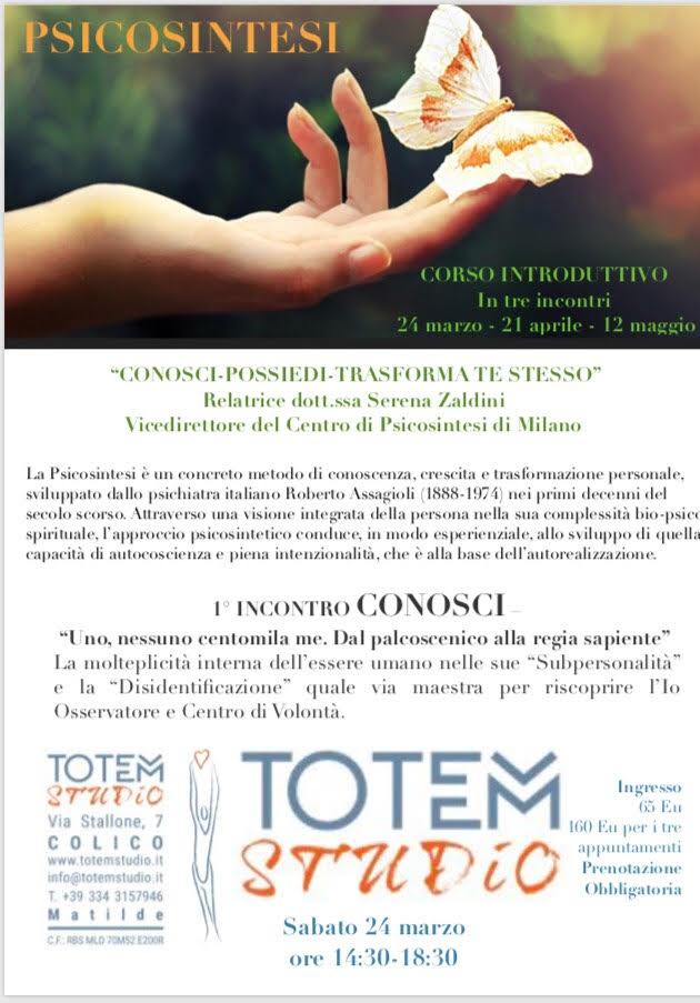 conosci possiedi trasforma Te stesso Totem Studio