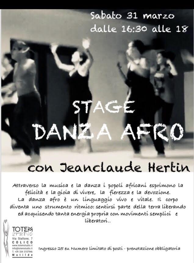stage danza afro Totem Studio