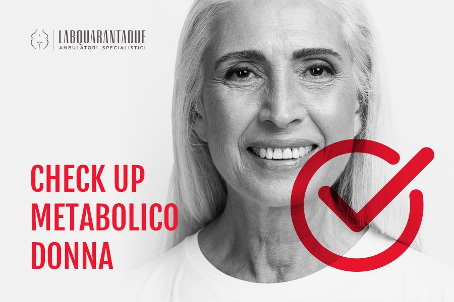 Check up metabolico valido strumento per affrontare la menopausa serenamente